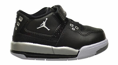 3f08d63ddf3f Jordan Flight 23 BT Baby Toddlers Shoes Black White-Metallic Silver  317823-011
