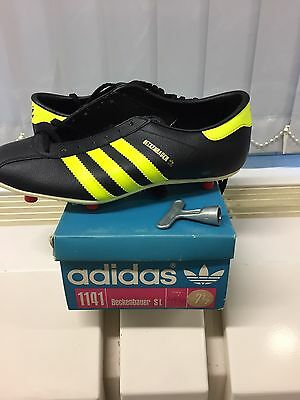 Vintage Adidas Beckenbauer SL Made In West Germany. UK 7,5 Football Soccer