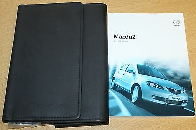 Mazda 2 Handbook Owners Manual Wallet 2005-2007 Pack 6130
