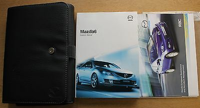 Mazda 6 Handbook Owners Manual Wallet 2008-2010 Pack 11235