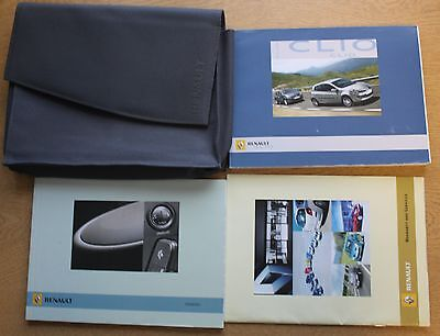 Renault Clio Iii 2005-2009 Owners Manual Handbook Wallet Pack 10995