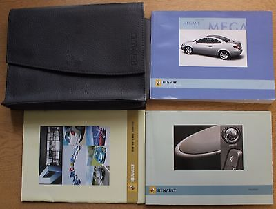 Renault Megane Cc Owners Manual Handbook Wallet 2003-2006 Pack 12017
