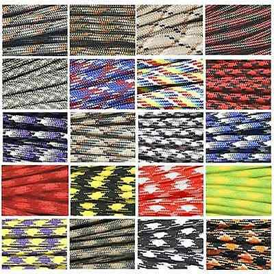 10M 550 Paracord Camo Parachute Cord Lanyard Mil with 7 Core Rope for Sport Home