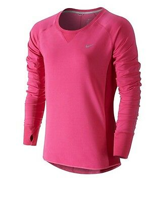 Nike Dri Fit Long Sleeve Running Top Size S Uk 8 100% Authentic Rrp £59