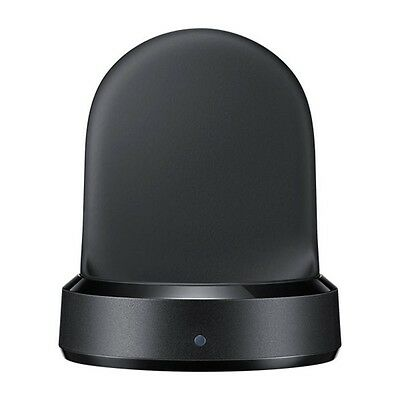 Samsung 100% Original Genuine EP-YO760 Wireless Charger Dock for Gear S3 Black