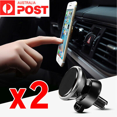 360° Car Mount Cradle Holder Dock Air Vent Magnetic For iPhone Samsung Galaxy