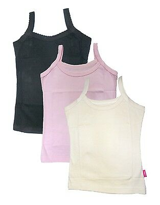 New Day Women's Cotton Camisole Slips (3 pc)