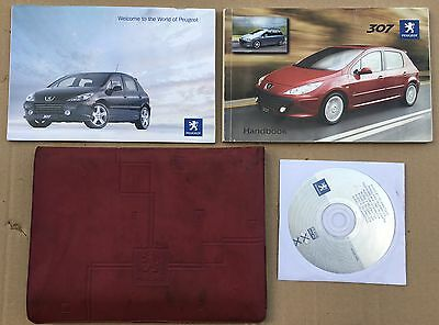 Peugeot 307 307 Estate Owners Manual Handbook Pack With Wallet 2005-2008