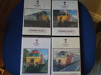 Timber Train - 8 DVDs in total - Railway train cab ride