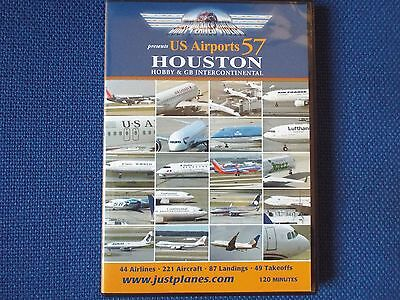 Just Planes - US Airports 57 - Houston -Aircraft DVD