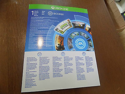 EA Access Xbox one 1 month subscription