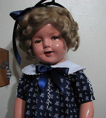 """Pretty Dress For Your 27"""" Shirley Temple Doll :)"""
