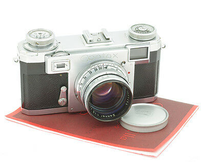 Zeiss Ikon Contax IIa Camera with Sonnar 1.5/50 mm Lens