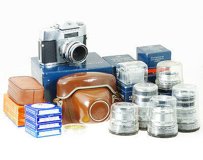 Agfa Ambiflex with 6 lenses and accessories