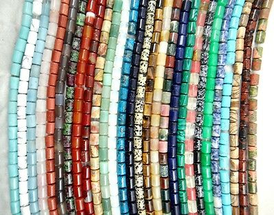 """Wholesale Natural Barrel beads Jewelry Making loose GEM beads strand 15"""""""