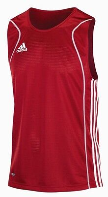 Adidas  Boxing Vest Top Uni Red/grey/white  Adult Small  Bnwt Rrp £35