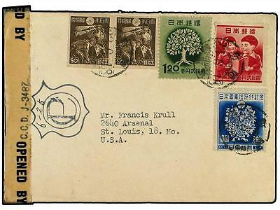 JAPAN. 1938. Cover bearing Showa 50 s.(x2), Contitution