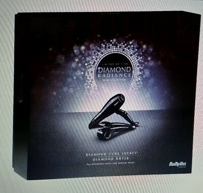 BaByliss Diamond Radiance Curl Secret Hairstyler and  Hair Dryer Gift Set