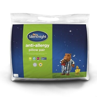 Twin Pack of Quality Anti Allergy Pillows