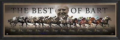 The Best of Bart - Bart Cummings Melbourne Cup Limited Edition Print Framed COA