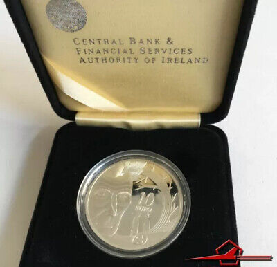 Irish Commemmorative Silver Coins. 10€. Samuel Becket, 2006