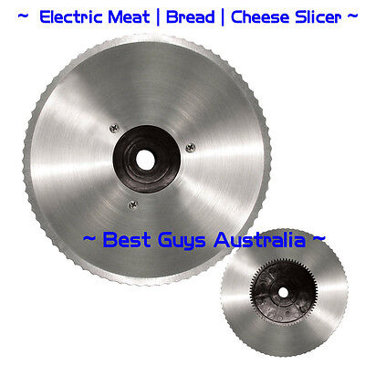 Food Meat Slicer Electric Deli Cutter Cheese Vegetables Bread Cutter 200W Blade