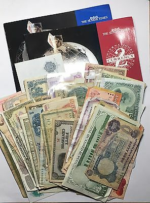 A Selection of approximately 100 World Banknotes - Lot 4