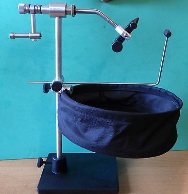 Vice Fly Tying tools True Rotary Vise Pedestal Base dust bag T.McFlier Ireland