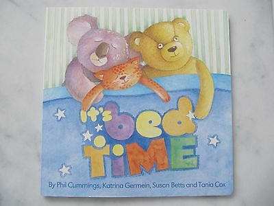 It's Bedtime Book Phil Cummings With Music Cd Bedtime Stories Baby Brand New