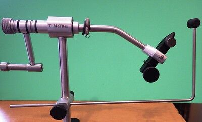 Fly Tying Vice Tools T.McFlier Ireland true rotary Vice C-Clamp EU FREE POSTAGE