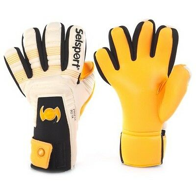 Selsport Profile Goalkeeper Gloves Negative Size 8.5