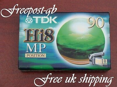 A TOP QUALITY TDK P5-90HMP Hi8 / DIGITAL 8 CAMCORDER TAPE / CASSETTE 90/180 MINS
