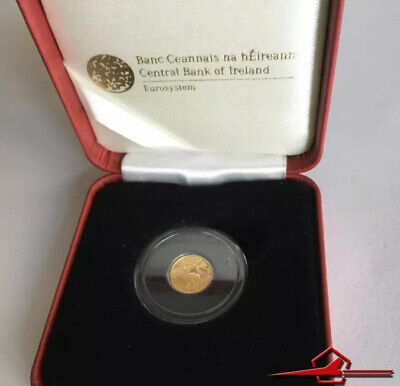 IRISH COMMEMMORATIVE GOLD COINS. 20€. MONASTIC ART, 2012. With Box.