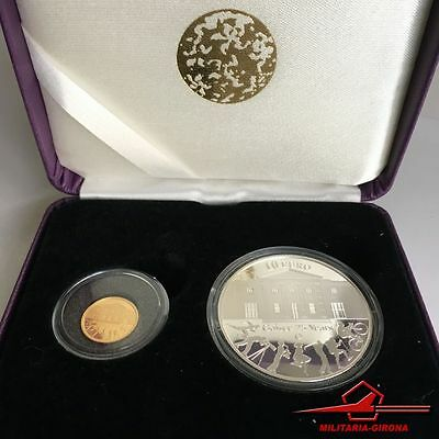 Irish Coins. Doub. Gold/silver Proof Set.gaisce(President's Award)25 Years. 2010