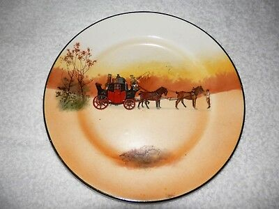 """ROYAL DOULTON 7 1/2"""" Side Plate - Coaching Series England COLLECTABLE"""