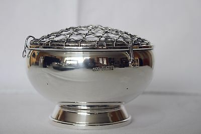 Top Quality Solid Silver Posy Bowl, Cohen & Charles, Birmingham 1965