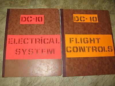 1970 National Airline DC-10 Flight Operational Manual & Electrical Systems Guide