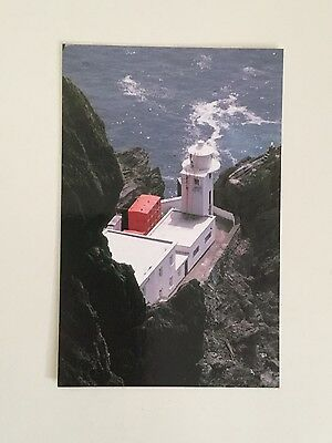 Skellig Michael Lighthouse, Co. Kerry, Ireland. Postcard.