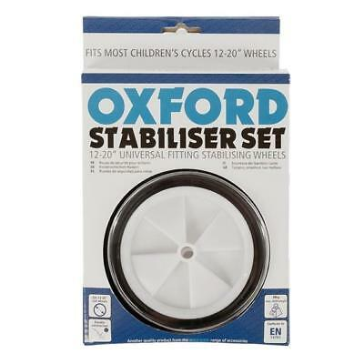 """OXFORD Bike / Bicycle STABILISERS 12"""" - 20"""" Multi Fit - ST952"""