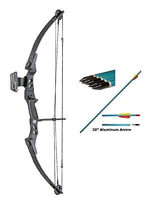 Archery Compound Bow with FREE ARROWS!! 55lb Draw weight Adult