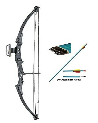 Lynx Archery Compound Bow with FREE ARROWS!! 55lb Draw weight
