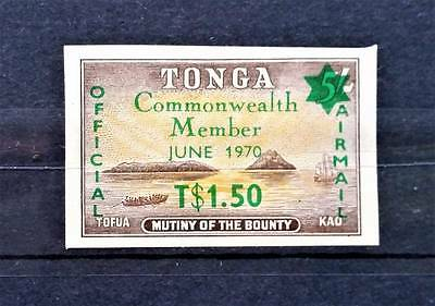 Tonga 1970 Official Air Mail Unmounted Mint. Imperf.