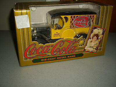 Ertl Boxed Coca-Cola Die-Cast Metal Bank Delivery Truck 1993 #2973? NEW