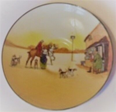 """ROYAL DOULTON - Hunting - Saucer 5 1/2"""" Diam. ENGLAND COLLECTABLE"""