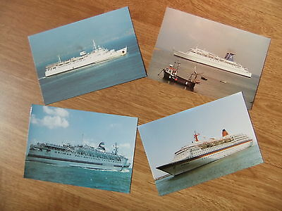 Europa Discovery 1 The Azur Aegeon Ship Ferry Postcards