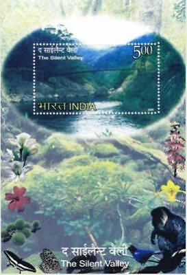 INDIA 2009 The Silent Valley Miniature Sheet, MNH