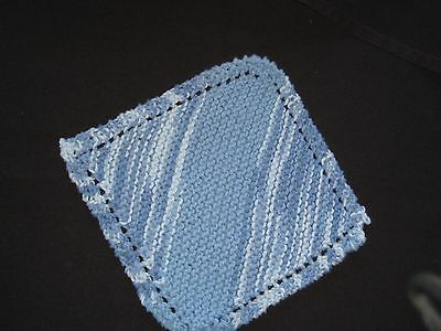 Knitted handmade dishcloths, variety of colors to choose from