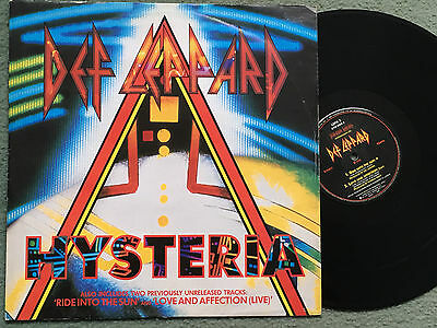 Def Leppard - Hhysteria - Uk Lepx3 - 12Inch