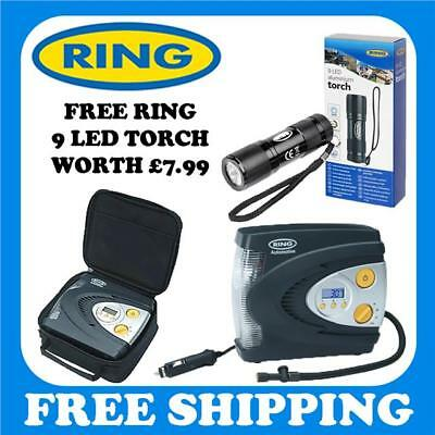 Ring RAC630 Compressor 12v Car Tyre Tire Inflator Pump RAC600 Replacement