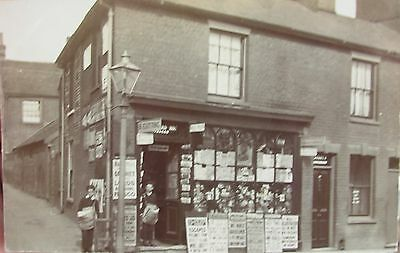 Miss Betsy's Paper Shop 12 Vernon Street Ipswich Suffolk Early Rp Pc